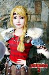 Astrid Hofferson of How to Train Your Dragon 2 by azeleia