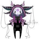 gothic doll monster pet adoptable CLOSED by AS-Adoptables