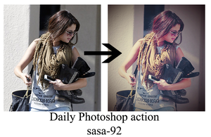 Daily actions by sasa-92