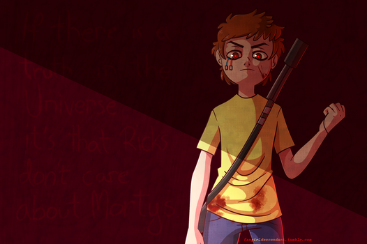 Evil Morty by AnInnocentDemon