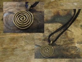 Celtic Spiral by Ilionej
