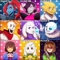 Undertale! by Dali-Puff