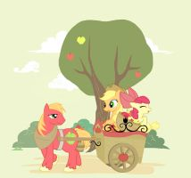 apple family by JYounn