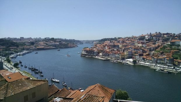 View of the Douro River by dsazor