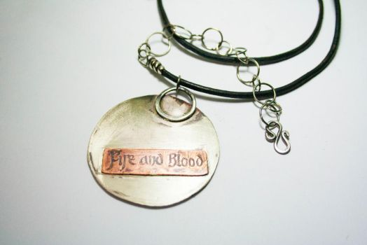 Game of thrones inspired jewelry (Back side) by BichoBolita