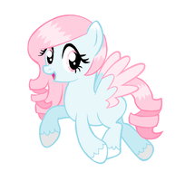 100 Pony Theme Challenge: Candy Floss by DesuPanda-Adopts