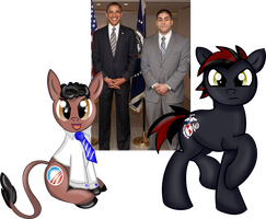 The President and My Brother by Rayodragon