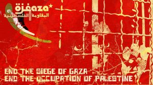 end the siege of gaza by bashole