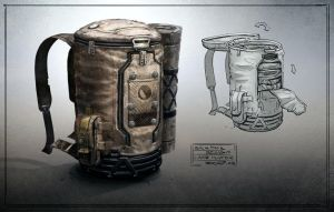 Backpack design by Javoraj