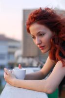 a cup of coffee by maroline