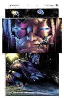 Silver Surfer vs Apollo 11 - Color Battle by BDStevens
