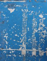 Blue Painted Metal by GreenEyezz-stock