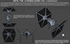 TIE Vanguard [RC Variant] ortho [New] by unusualsuspex