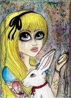 I want be Alice by InesPeace