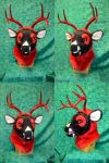 Yen the Red Money Buck HEad by temperance