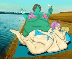 Beach Bums by theJiggly