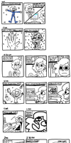 Hourly Comic Day by FrogAndCog