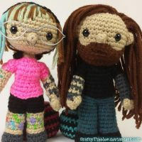 Amigurumi Selfies by CraftyTibbles