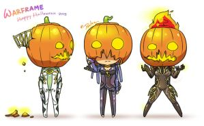 Warframe Halloween 2015 by DarikaArt