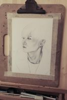 Hyunseung WIP by FrauSalami