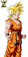 Goten Super Saiyan (End Of DBZ) by el-maky-z