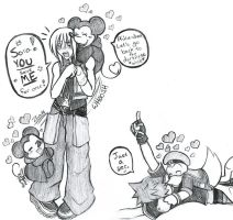 Violated--KH2 spoiler warning? by Miina-san