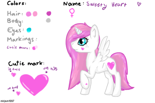 Sweety ref set by AliceTheWolfLover