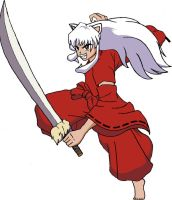 project for randominuyasha by anavrinpapercuts