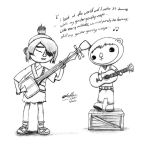 When Kubo Met Sach: While My Guitar Gently Weeps by AdrianImpalaMata