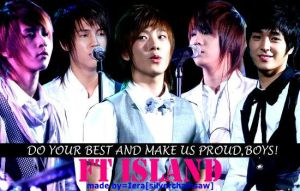 for the FT Island project by SilverChainsaw