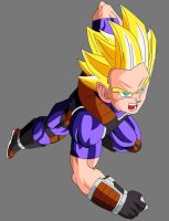 Teen Nach (Super Saiyan) V1 by OWC478