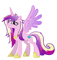 My Little Vector - Cadence by Rudahn