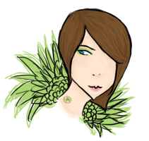Green Feathers by Lithium-Memoria