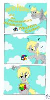 Derpy and the MMMC page 1 by StrangeRaven