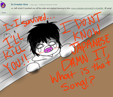 Ask Jeff The Killer 7-Question 23. by MikaelBratLoni