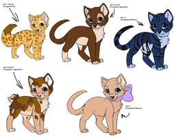Warrior Cats:adoptables:CLOSE by BleachTheNight