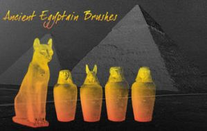 Ancient Egyptian Brushes by Sepals