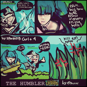when i play Ashe in LoL by panskiduf