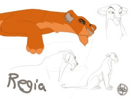 Regia Sketches by dyb