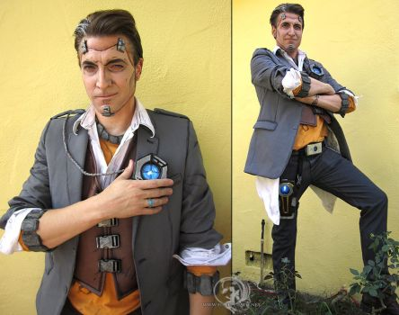 Handsome Jack Borderlands 2 by Firefly-Path