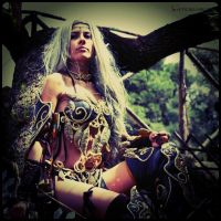 Me as night elf_1_ArcadiaComics2015 by ladymisterya