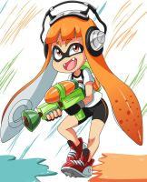 Splatoon by bocodamondo