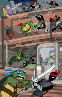 Teenage Mutant Ninja Turtles Poster. by scootah91