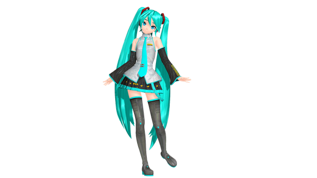 PDFT Default Miku Render by DoctorWD