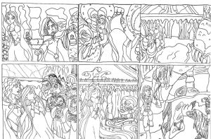Quest beyond dreams chapter 2 storyboard part 2 by Energywitch