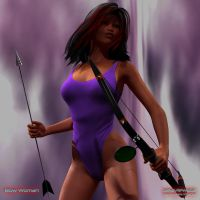 Bow Woman 1 by Seaview123
