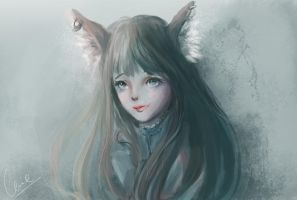 Blade and Soul fanart by cennie