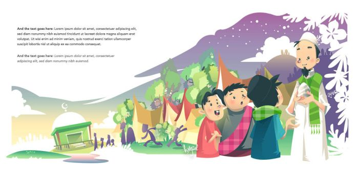 Folklore Storybook: Si Pitung by hatefuel
