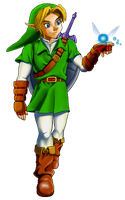 .:Ocarina of Time Anniversary Gift:. by SiscoCentral1915