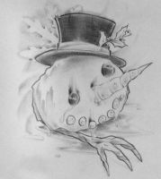 """""""Death Of Snowman"""" by CakeinyourFace"""